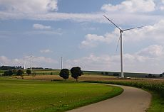 Windkraftanlagen in Stötten